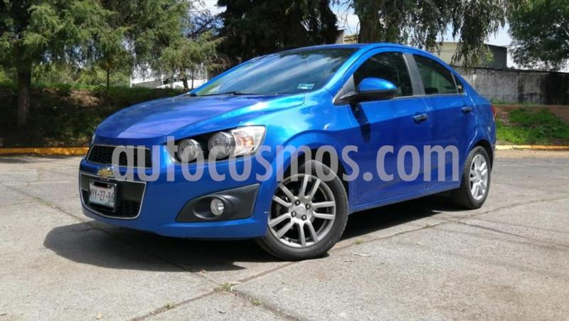 Chevrolet Sonic 4P LTZ TA A/AC. VE QC ABS BA F. NIEBLA RA-16 usado (2016) color Azul precio $169,000