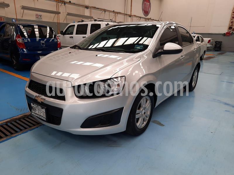 Chevrolet Sonic LT usado (2016) color Plata precio $145,000