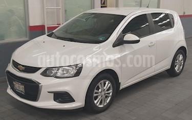 Chevrolet Sonic 5P HB LT TM5 A/AC. VE BA RA-15 usado (2017) color Blanco precio $175,000