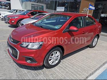 Chevrolet Sonic Paq D usado (2017) color Rojo precio $169,000