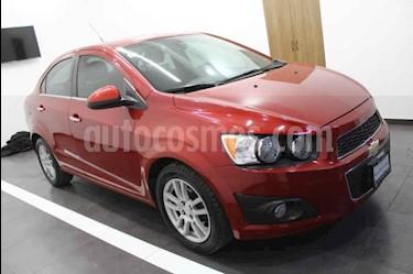 Chevrolet Sonic LTZ Aut usado (2013) color Rojo precio $135,000