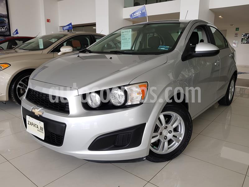 Chevrolet Sonic LT usado (2015) color Plata Brillante precio $145,000