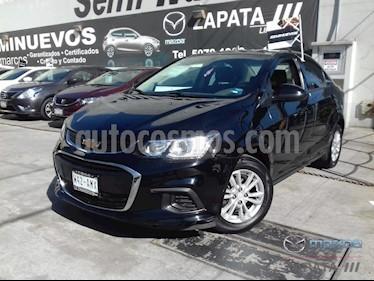 Chevrolet Sonic LT usado (2017) color Negro precio $156,000