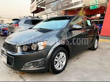 Chevrolet Sonic 4p LT 5vel usado (2013) color Gris precio $115,000