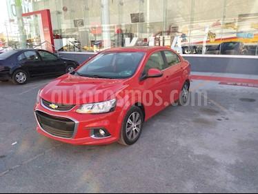 Chevrolet Sonic LTZ Aut usado (2017) color Rojo precio $200,000