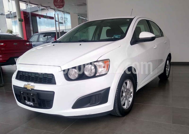 Chevrolet Sonic LT usado (2015) color Blanco precio $135,000