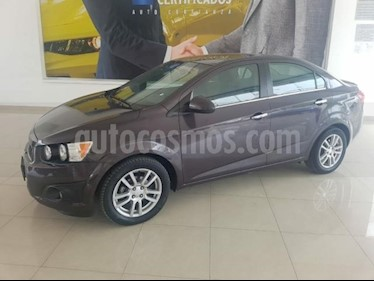 Chevrolet Sonic 4P LTZ TA A/AC. VE QC ABS BA F. NIEBLA RA-16 usado (2015) color Plata precio $123,817