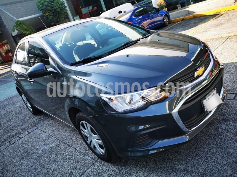 Chevrolet Sonic LS usado (2017) color Gris precio $153,000