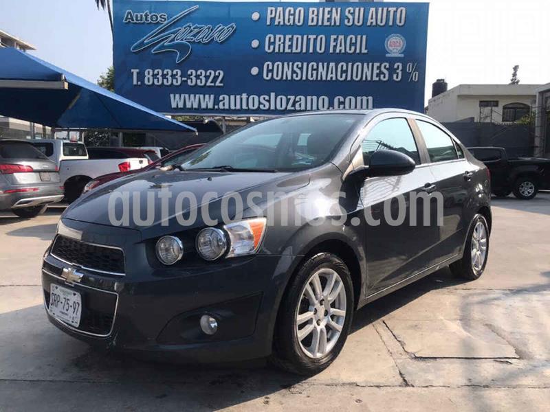 Foto Chevrolet Sonic LTZ Aut usado (2013) color Gris precio $119,900