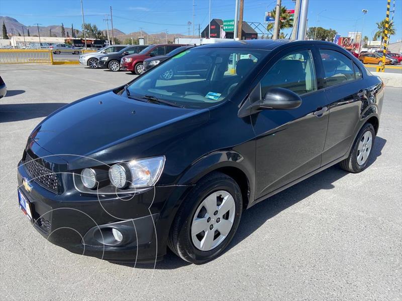 Chevrolet Sonic LS MANUAL usado (2016) color Negro precio $119,000