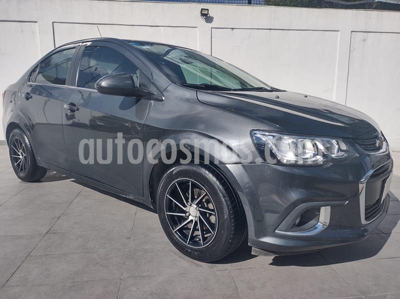 Chevrolet Sonic Premier Aut usado (2017) color Gris Oscuro precio $175,000