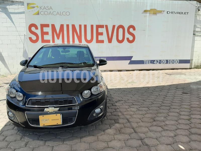 Chevrolet Sonic LTZ Aut usado (2015) color Negro precio $138,000