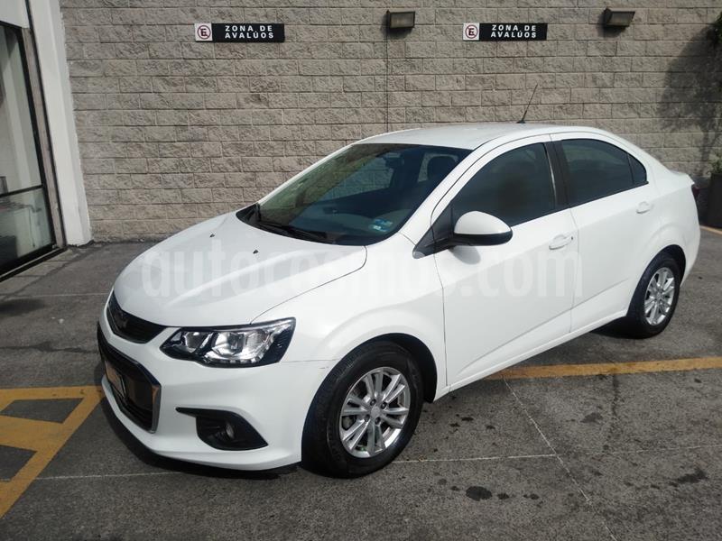 Chevrolet Sonic LT usado (2017) color Blanco precio $155,000