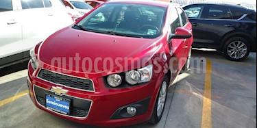foto Chevrolet Sonic LTZ Aut usado (2016) color Rojo Tinto precio $165,000