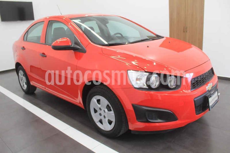 Chevrolet Sonic LS usado (2016) color Rojo precio $149,000