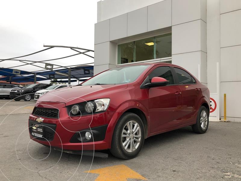 Chevrolet Sonic LT usado (2016) color Rojo precio $145,000