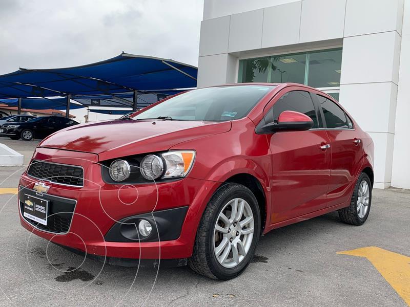 Foto Chevrolet Sonic LTZ Aut usado (2015) color Rojo precio $195,000