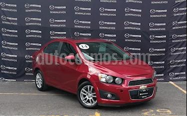 Chevrolet Sonic LTZ Aut usado (2014) color Rojo Tinto precio $107,000