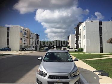Chevrolet Sonic LTZ Aut usado (2012) color Plata precio $90,000