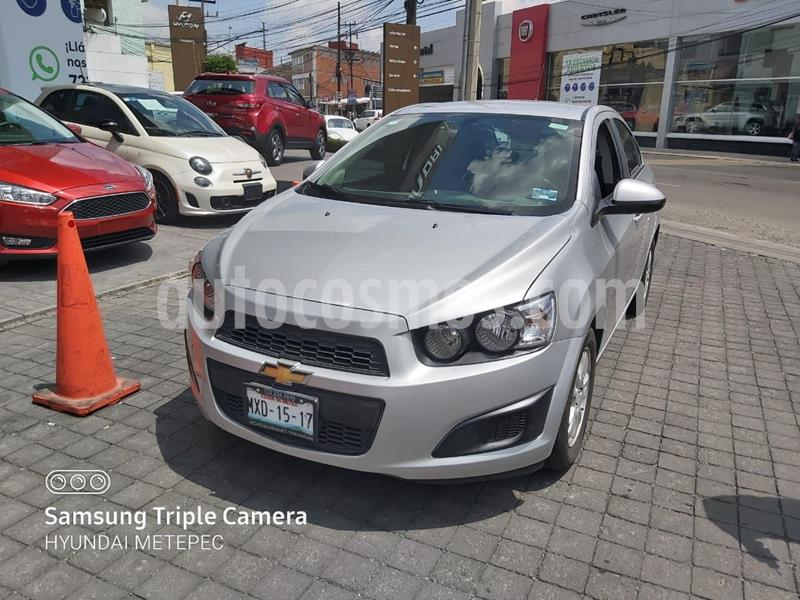Chevrolet Sonic LT usado (2016) color Plata Dorado precio $148,000