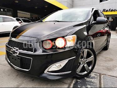Chevrolet Sonic Paq B usado (2014) color Negro Carbon precio $160,000