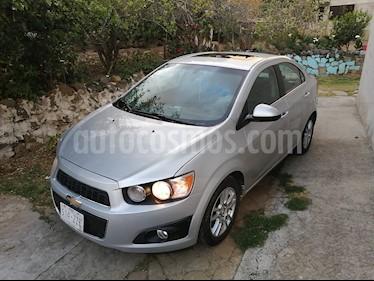 Chevrolet Sonic LTZ Aut usado (2014) color Plata Brillante precio $112,800
