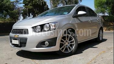 Foto Chevrolet Sonic 4P LTZ TA A/AC. VE QC ABS BA F. NIEBLA RA-16 usado (2016) color Plata precio $165,000