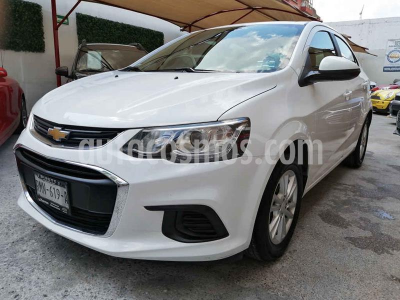 Chevrolet Sonic LT Aut usado (2017) color Blanco precio $172,000
