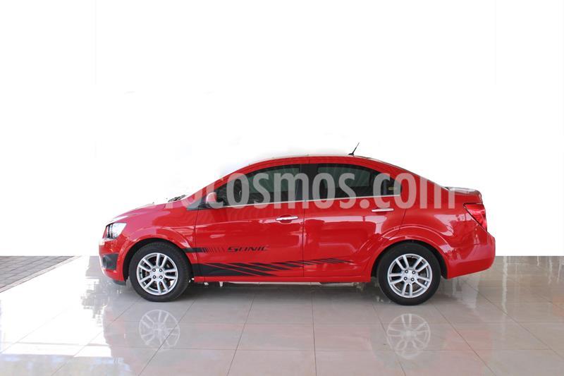 Chevrolet Sonic LTZ Aut usado (2016) color Rojo precio $185,000