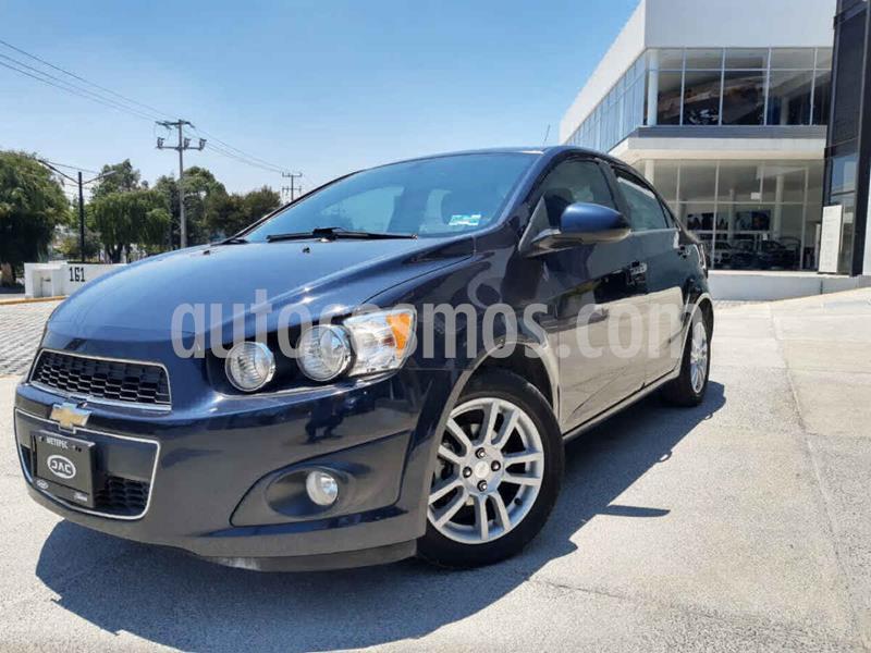Chevrolet Sonic LTZ Aut usado (2014) color Azul precio $145,000