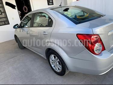Chevrolet Sonic LT usado (2016) color Plata precio $115,000