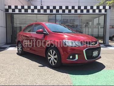 Chevrolet Sonic LTZ Aut usado (2017) color Rojo precio $195,440