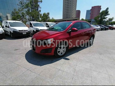 Chevrolet Sonic 4p LT 5vel usado (2013) color Rojo precio $119,000