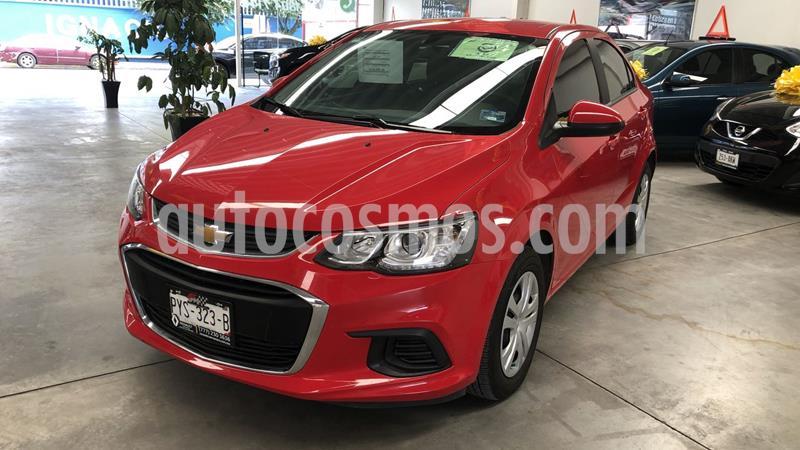 Chevrolet Sonic LS usado (2017) color Rojo precio $197,000