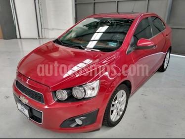 Chevrolet Sonic 4P LTZ TA A/AC. VE QC ABS BA F. NIEBLA RA-16 usado (2016) color Rojo precio $170,000