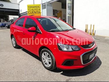Chevrolet Sonic LS usado (2017) color Rojo precio $179,000