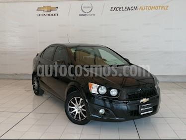 Chevrolet Sonic Paq E usado (2015) color Negro precio $129,000