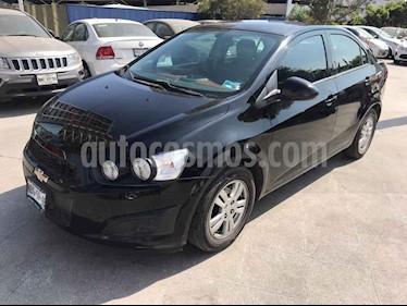 Chevrolet Sonic 4p LT L4/1.6 Man usado (2016) color Negro precio $135,000
