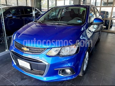 Chevrolet Sonic LT usado (2017) color Azul Naval precio $163,000