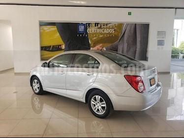 Chevrolet Sonic 4P LT TM5 A/AC. VE BA RA-15 usado (2015) color Plata precio $129,900