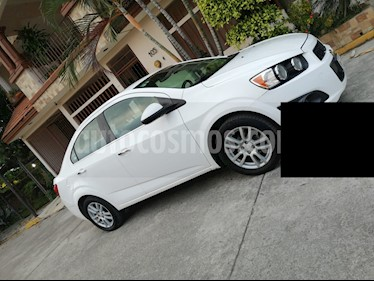 Chevrolet Sonic LTZ Aut usado (2014) color Blanco Galaxia precio $115,000