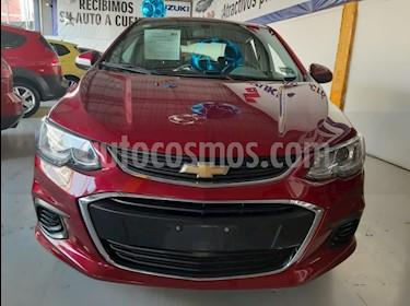 Chevrolet Sonic LT HB usado (2017) color Rojo precio $169,000