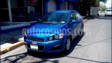 Chevrolet Sonic LT usado (2012) color Azul Electrico precio $100,000