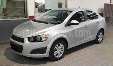 Chevrolet Sonic LT usado (2015) color Plata precio $135,000