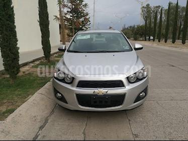 Chevrolet Sonic LTZ Aut usado (2016) color Plata precio $141,000