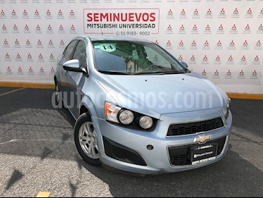 Chevrolet Sonic LT Aut usado (2014) color Azul Claro precio $140,000
