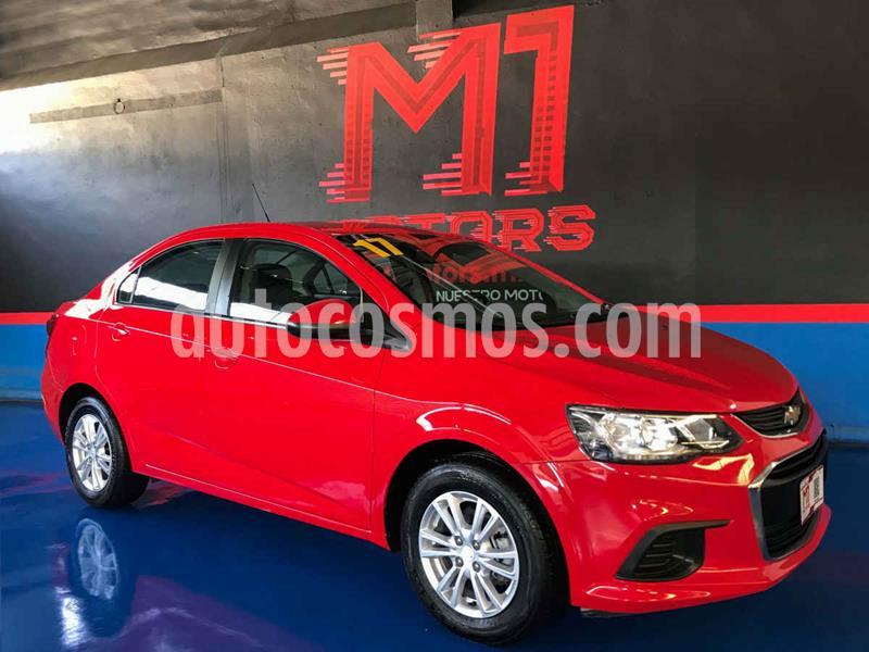Chevrolet Sonic LT Aut usado (2017) color Rojo precio $167,000