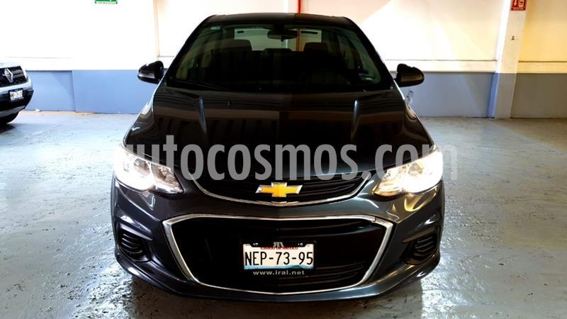 Chevrolet Sonic LT usado (2017) color Gris Ceniza precio $179,000
