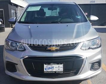 Chevrolet Sonic LS usado (2017) color Plata precio $165,000