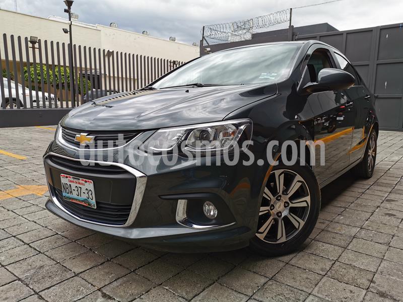 Chevrolet Sonic LTZ Aut usado (2017) color Gris Urbano precio $195,000